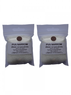 pva mesh refill x 2 - top band brown