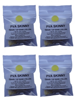 pva mesh refill x 4 - top band yellow