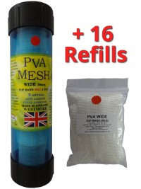 top band red - pva mesh 85 metres